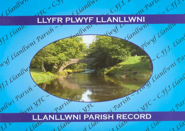 Llyfr plwyf Llanllwni
