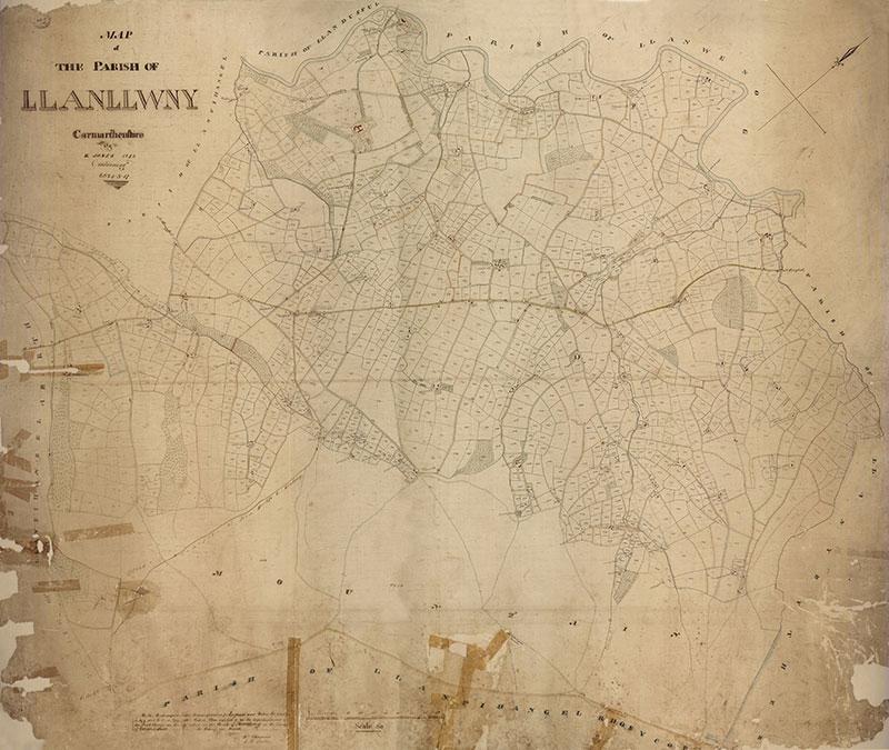 Map y Degwm